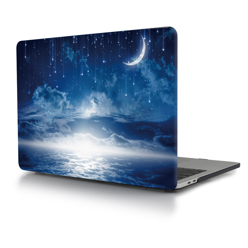 Print Crystal Clear Hard Case for MacBook 92