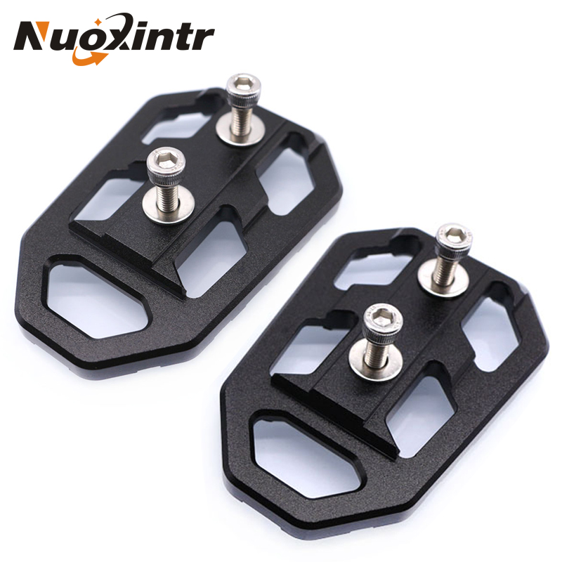Nuoxintr Motorcycle Billet Wide Foot Pegs FootRest Footpegs Rests Pedals For KAWASAKI Versys 650 2015-2018 Versys X300 2017-2018