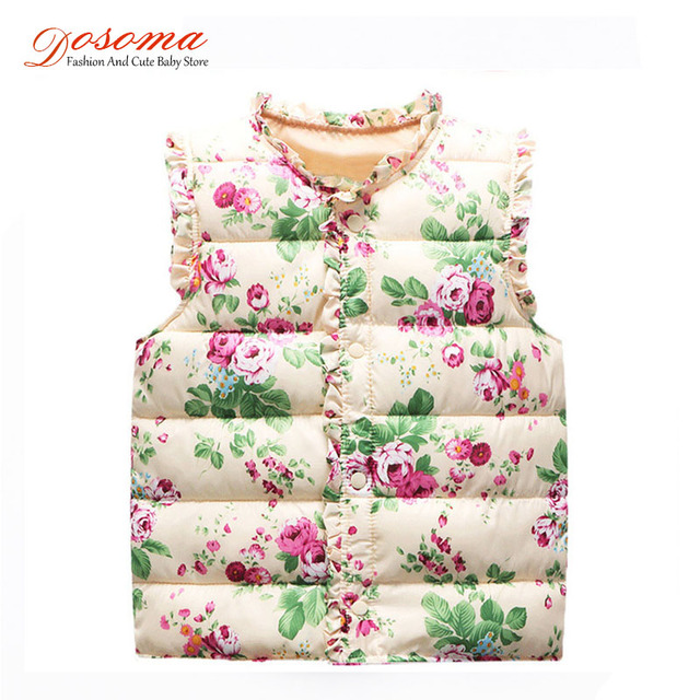 winter vest for girls fashion childrens clothing baby