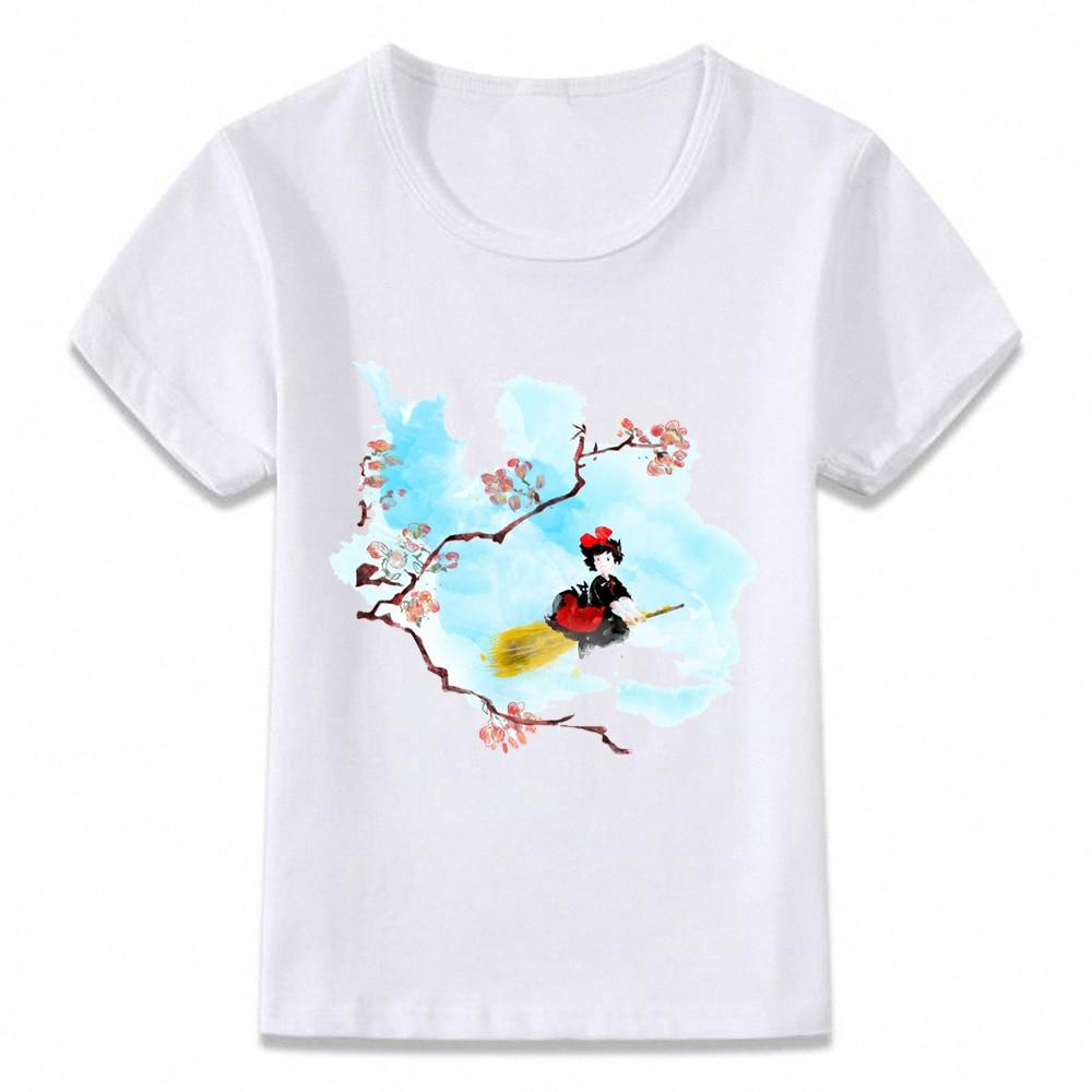Kids Clothes T Shirt Kiki's Delivery Service Kiki Anime Manga T-shirt For Boys And Girls Toddler Shirts Tee Oal052