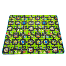 Thick Town City Blanket Traffic Baby Crawling mat EVA Foam C