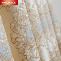Chinese Classical Cotton Linen Embroidered Curtain For living Room Bedroom Blackout Curtain Window Treatment Drapes
