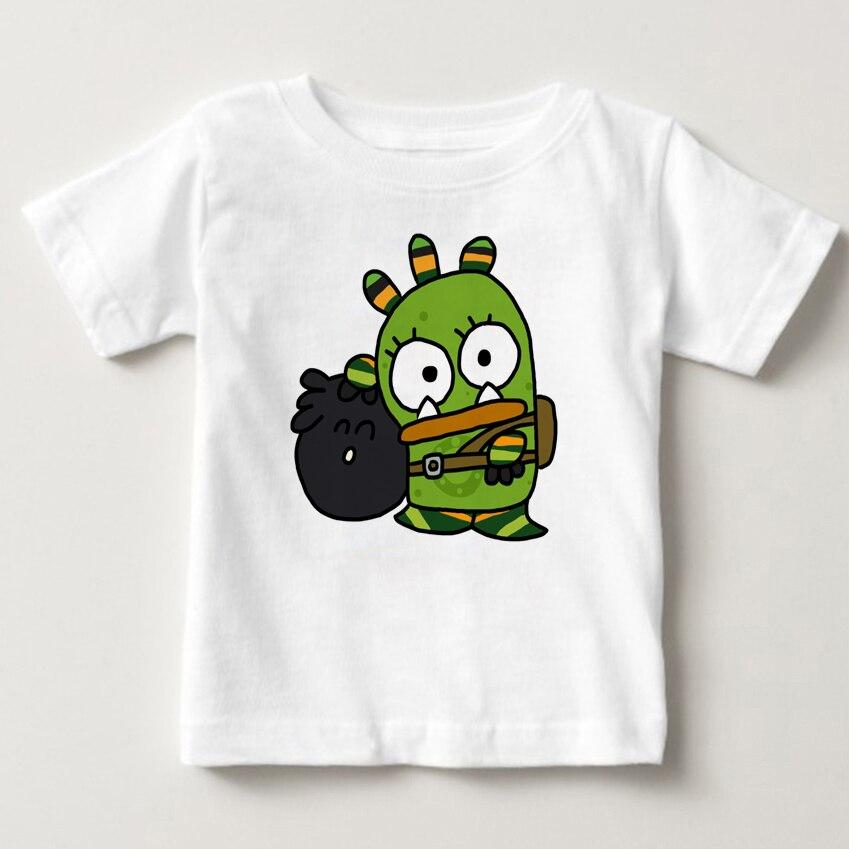 2018 Summer qumiqumi children T Shirt baby Tshirt Costume infant Lovely boy and girl Favourite Russian cartoon T-shirt MJ