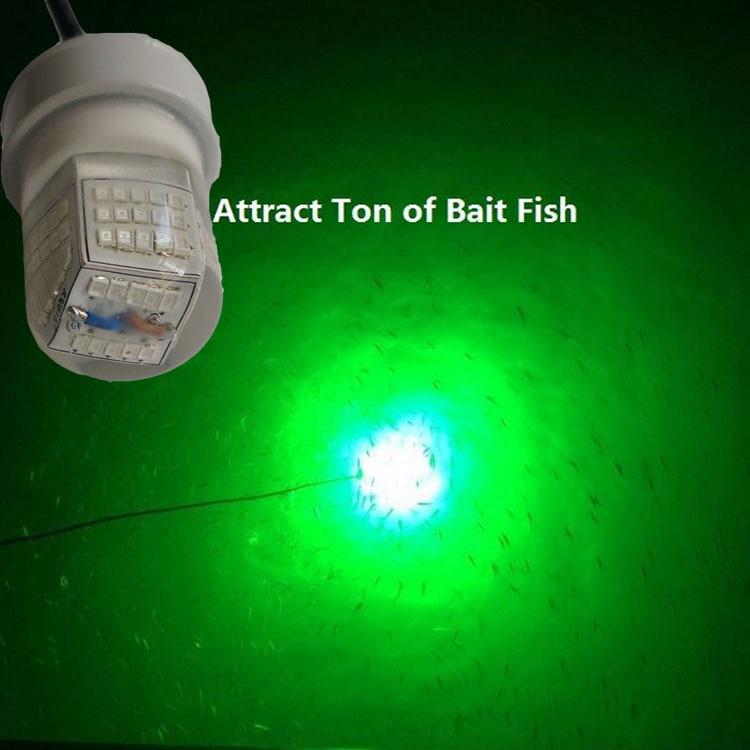 ФОТО 30W LED Underwater Fishing Lights Ice Fishing Lures for Bass Smallmouth Bass Striped Bass Pradco Topwater Squid Salmon Carp
