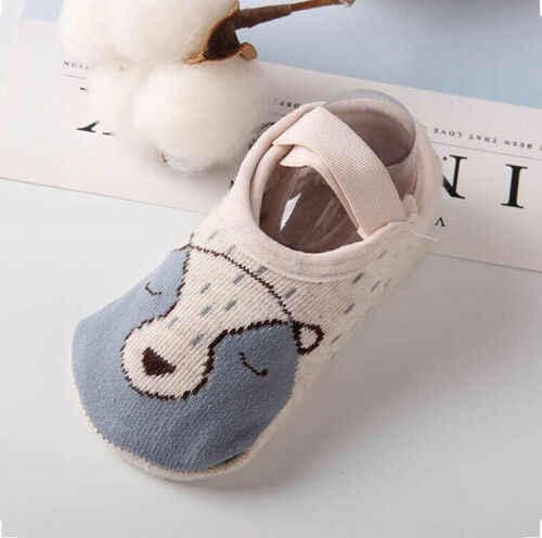 1 זוגות תינוק ילד בני בנות ילדים אנטי להחליק קרסול גרבי כותנה אנטי להחליק נעל-כמו גרביים חמוד קריקטורה רצפת רך בלעדי 1-3Y