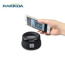 RAKINDA NEW ARRIVAL RD4100 High Quality Desktop Barcode Reader QR Code Scanner for Mobile Phone Payment, USB/RS232