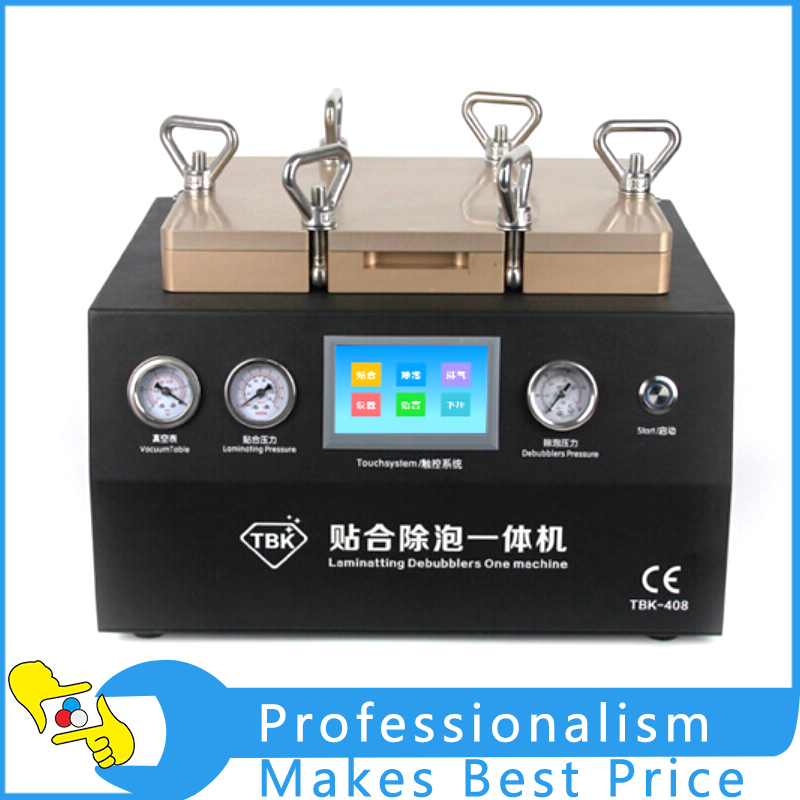 LCD Touch Screen 12 Vacuum OCA Laminator Machine Debubbler Machine 2 in 1 Repair Machine For Screen Refurbishment Free Shipping best price ly 888a all in one touch screen oca lamination machine touch screen vacuum laminator for max 12 inch russia free tax