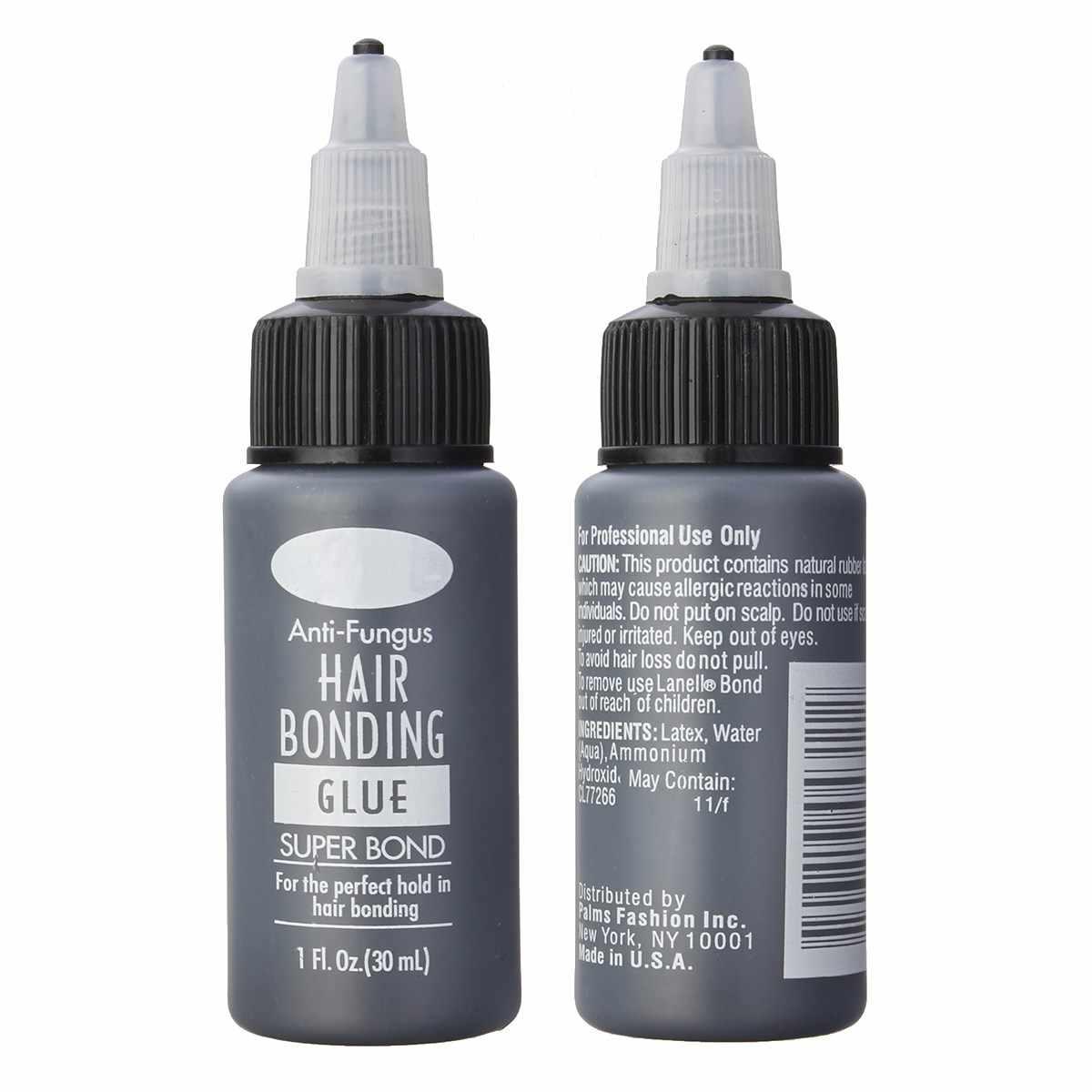 1 бутылка 1 Floz связывающий волосы клей супер склеивание жидкий клей для волос Парик Инструменты для наращивания волос профессиональное салонное использование