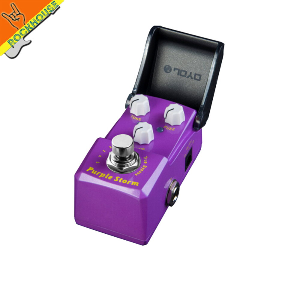 JOYO IRONMAN Classic Fuzz Guitar Effects Pedal Fuzz Guitarra Stompbox reproduce 60's MKIV MK2 Pedal True Bypass Free Shipping mooer ensemble queen bass chorus effect pedal mini guitar effects true bypass with free connector and footswitch topper