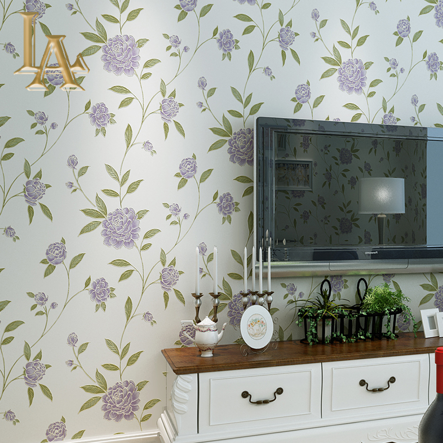 Modern Wallpaper For Bedrooms Compare Prices On Floral Design Wallpaper Online Shopping Buy Low