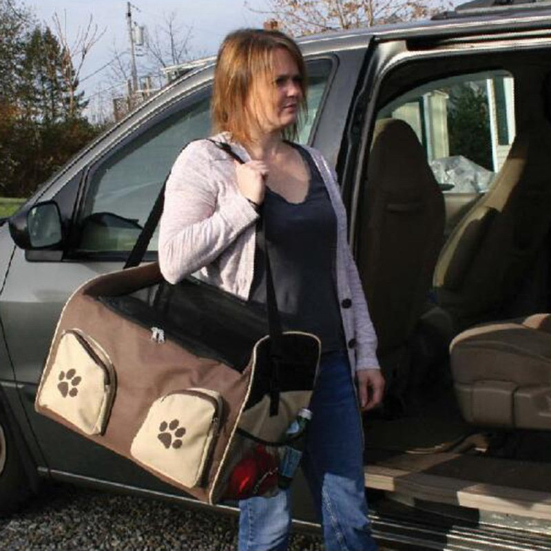 Δερμάτινη τσάντα για τα αυτοκίνητα - Προϊόντα κατοικίδιων ζώων - Φωτογραφία 5