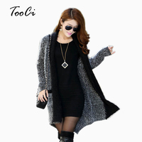 Cardigan New Arrival Fashion Autumn Winter Mohair Cardigan Long Cardigan Women Sweaters For Ladies