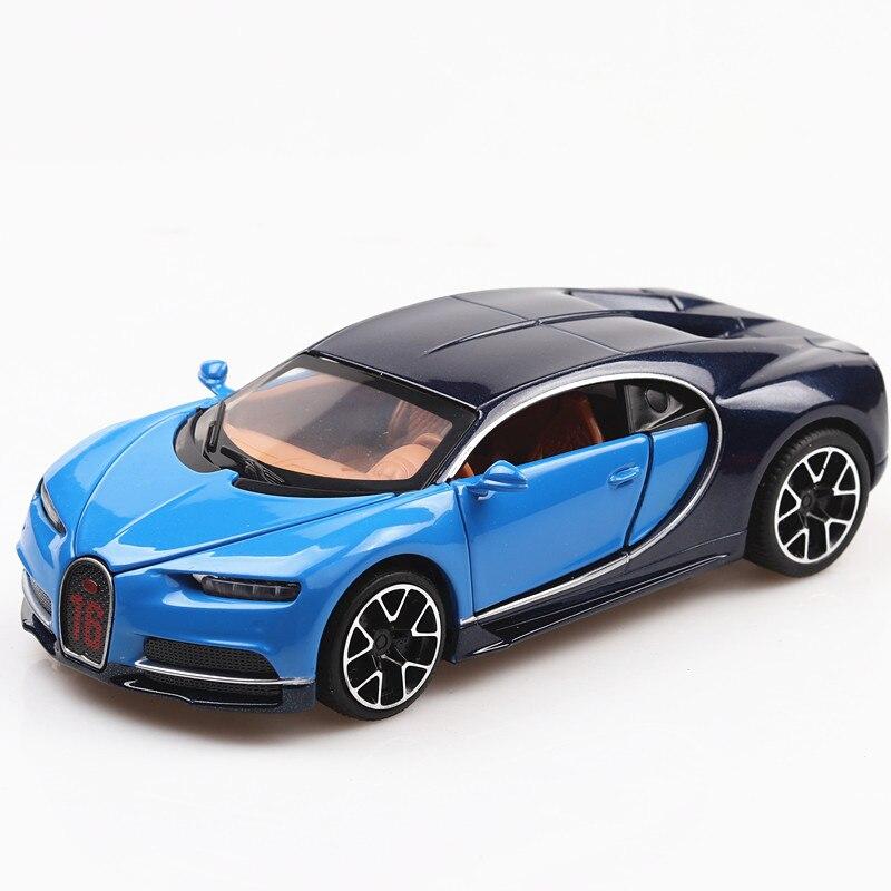 Bugatti Chiron Toy Car 15cm 27