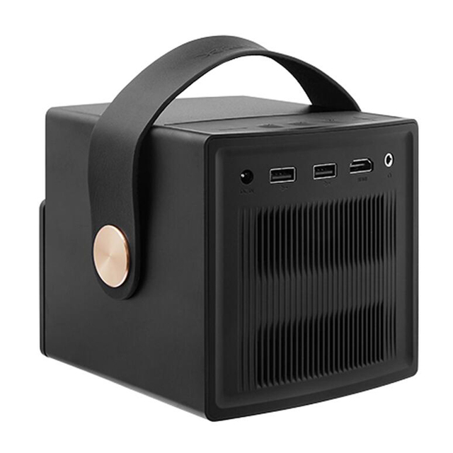 DLP Projector Home Theater Android Support Portable 3D 4K HD Video With Battery Video projecteur