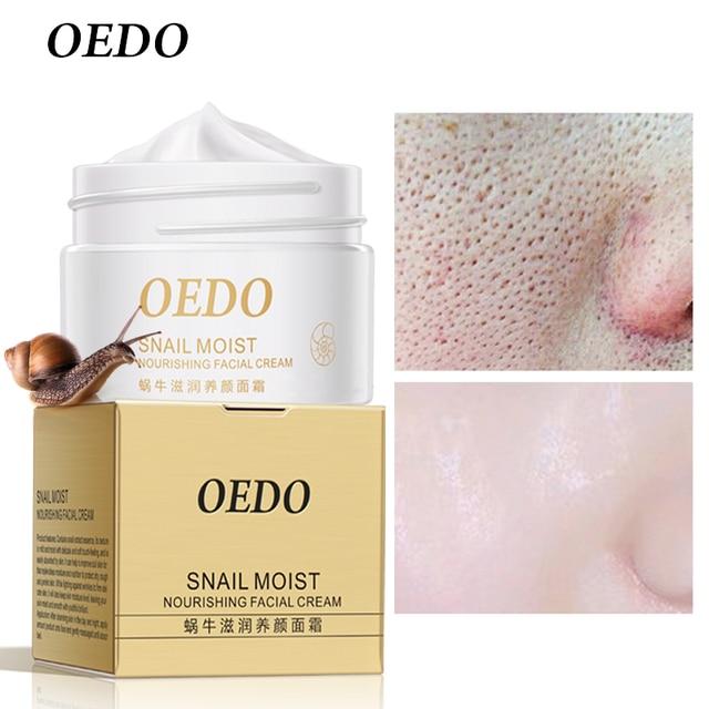 Antiarrugas antiedad Caracol húmedo nutritivo crema Facial materias primas importadas cuidado de la piel arrugas reafirmante Cuidado del caracol