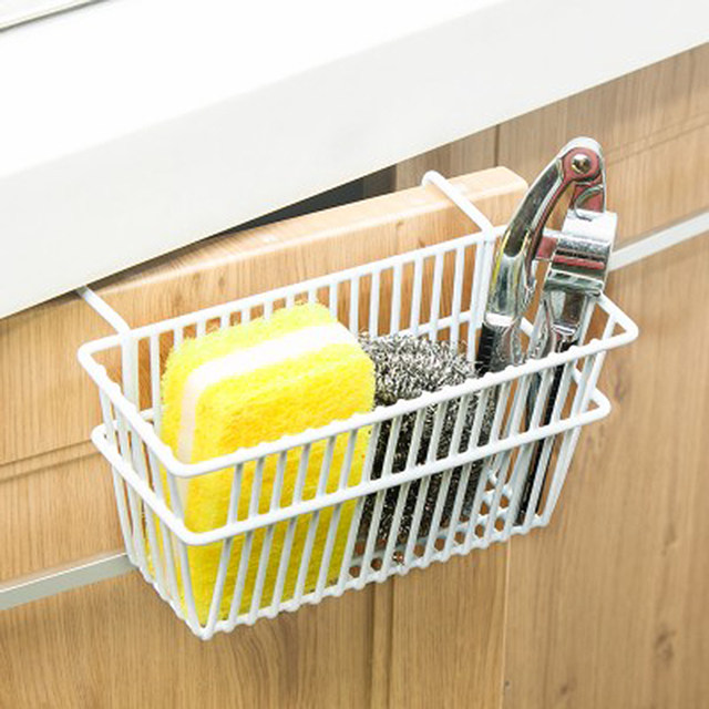 Iron Hanging Wire Basket Storage Organizer Kitchen Closet Office Partition  Board Wrought Iron Overdoor Hanging Kitchen Cabinet