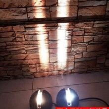 180 открытый настенный светильник с узким пучком, светодиодный архитектурный фасадный светодиодный настенный светильник Ac90~ 260V водонепроницаемый IP65 Настенный светильник ZBD0011