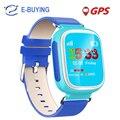 2017 kid gps smart watch relógio de pulso dispositivo de chamada sos localização rastreador para Kid Safe Anti Perdido Monitor Do Bebê Presente Q80 PK Q50 Q60