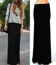 Black jersey maxi skirt online shopping-the world largest black ...