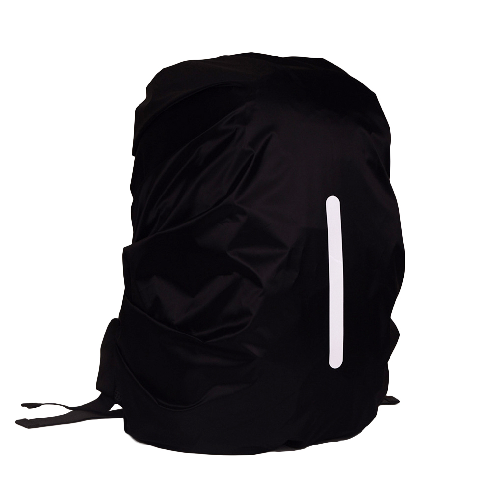 Image 3 - Safe Backpack Rain Cover Reflective Waterproof Bag Cover Outdoor Camping Travel Rainproof Dustproof-in Raincoats from Home & Garden