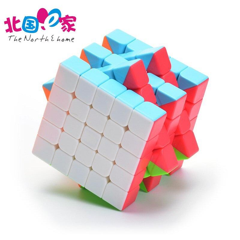 Professionelle Geschwindigkeit 5x5x5 Zauberspiegel Skew Cube Magic Pyraminx Puzzle-geschwindigkeits-würfel Lernen Bildung Spielzeug Für kinder Zauberwürfel