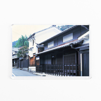 High Quality Acrylic Frige Magnet Typical Village Street And House In Japan Japanese Souvenir