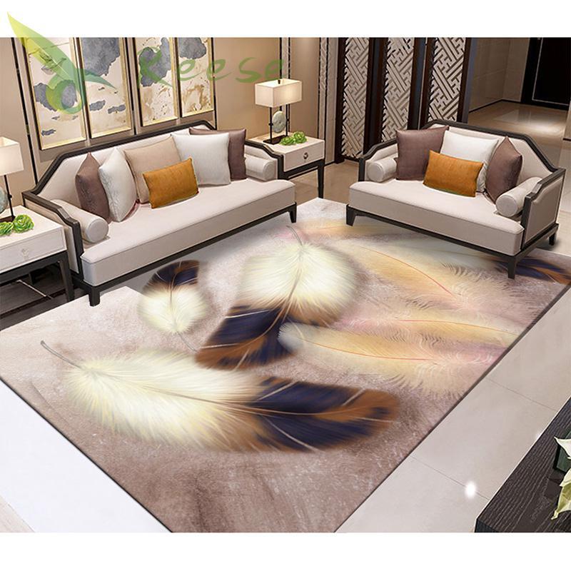Aliexpress Geometric Modern Art Bohemia Carpets Rug For Livingroom Non-slip Antifouling Carpet For Bedroom Parlor Factory Supply