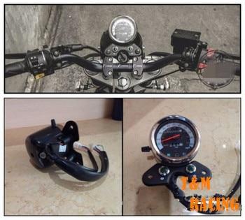 Motorcycle Odometer Speedometer Tachometer Speedo Meter for Suzuk i Cafe Racer Мотоцикл