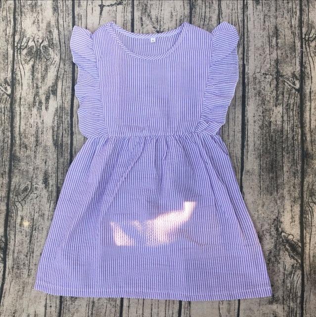 c3db08c1c577 little princess cute dress for baby girl seersucker flutter ...