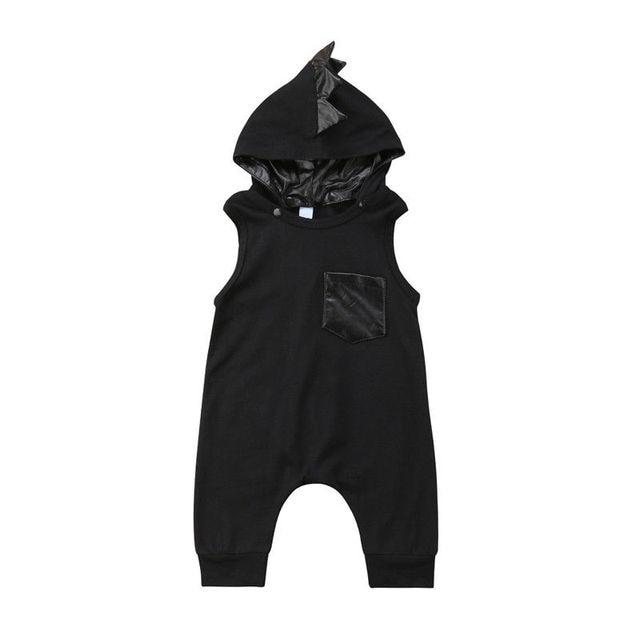 4ac9b2ed9 0 3T Newborn Baby Kids Boy Girl Clothes Infant Dinosaur Romper Cute ...