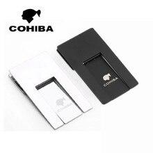 COHIBA Пепельница держатель стойки практичные гаджеты серебро высокое качество складная подставка для сигар лоток черный серебристый