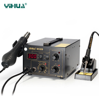 2 In 1 YIHUA 852D Smd Rework Soldering Station 852d
