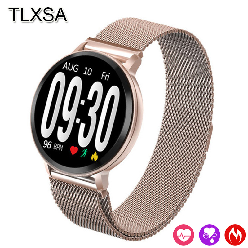 Fashion Bluetooth Call / Information Reminder Smart Watch Sleep Heart Rate Monitor Waterproof Fitness Tracker Smartwatch Android