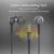 2017 novo 3.5mm de áudio para fone de ouvido samsung galaxy j5 esportes fone de ouvido com microfone em fones de ouvido para mp3/mp4 super bass auriculares