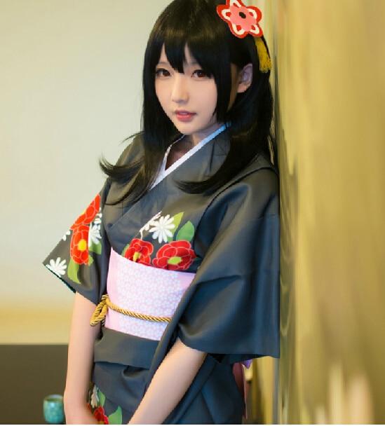 Image result for yazawa nico cosplay kimono