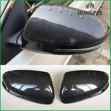 Estilo do carro espelho retrovisor escudo capa de habitação espelho retrovisor capa guarnição para kia optima k5 2011 2015