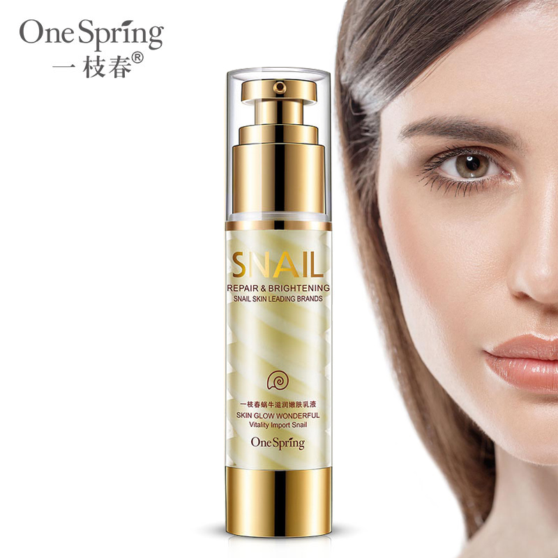 Snail Daily Face Moisturizer lotion Moisturizing Emulsion Acne Cream Anti Wrinkle Cream Brighten Firming Lifting Skin Care graymelin smiley tonight snail nutry emulsion
