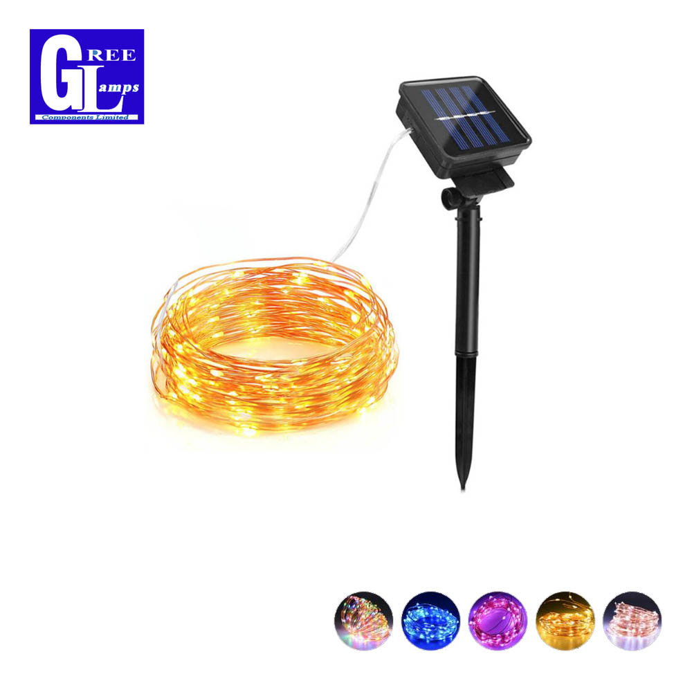 Solar Rechargeable LED Strip 10M 20M Waterproof Fairy Outdoor String lights Patio Garden Yard Party Wedding Christmas DecorativeSolar Rechargeable LED Strip 10M 20M Waterproof Fairy Outdoor String lights Patio Garden Yard Party Wedding Christmas Decorative