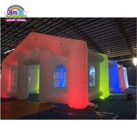 Современный дизайн открытый большой надувной шатер, надувные вечерние свадебные палатка с светодиодный свет