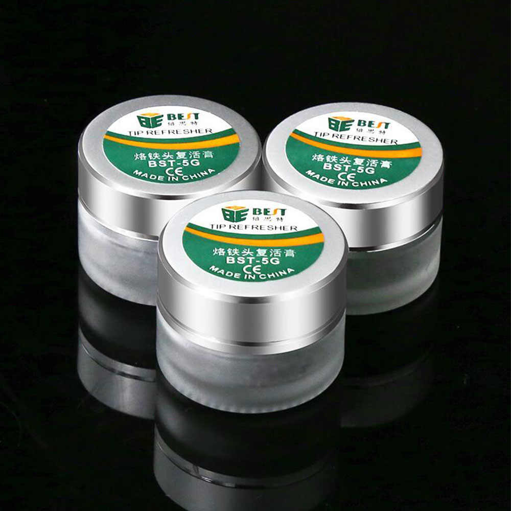 Soldering Iron Tip Refresher solder Cream Clean Paste for Oxide Solder Iron