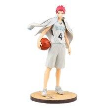 Action figure Kuroko no Basket Akashi Seijuro ball suit cartoon doll PVC 21.5cm box packed japanese figurine anime 170325