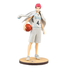 Kuroko figura de acción no Basket, traje de bola de Akashi Seijuro, muñeca de dibujos animados de PVC de 21,5 cm, figura japonesa de anime 170325