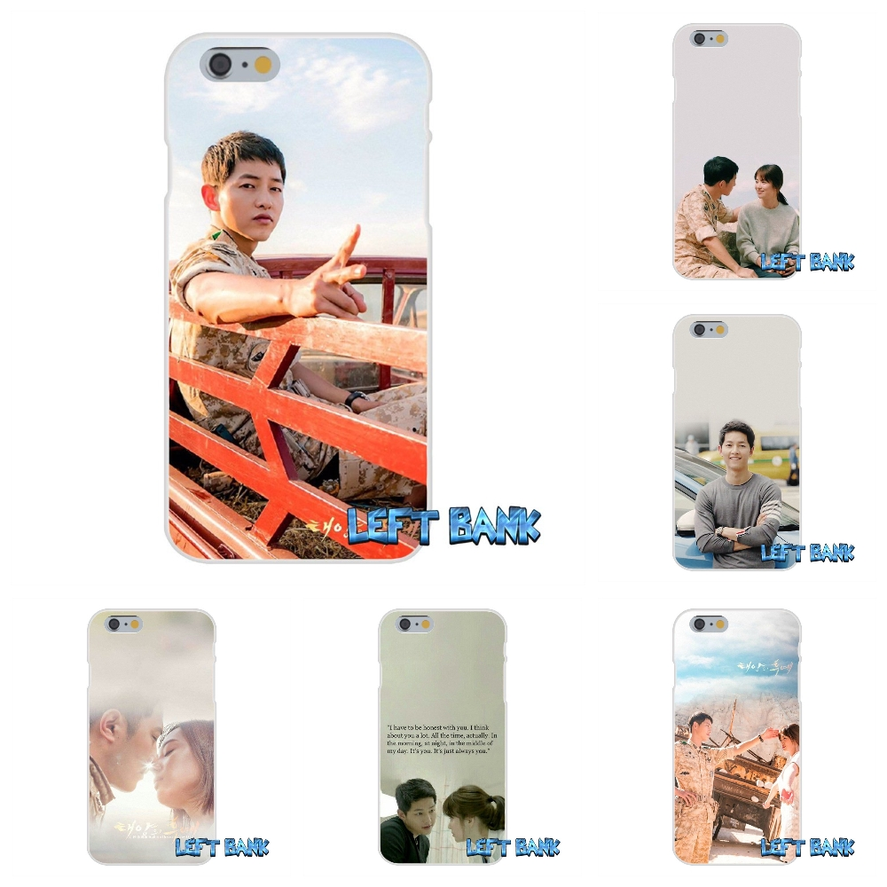 For Huawei P Smart Mate Honor P8 P9 P10 P20 Lite Pro Plus 2017 Descendants Of The Sun Soft Silicone Transparent Cover Case Half-wrapped Case Cellphones & Telecommunications