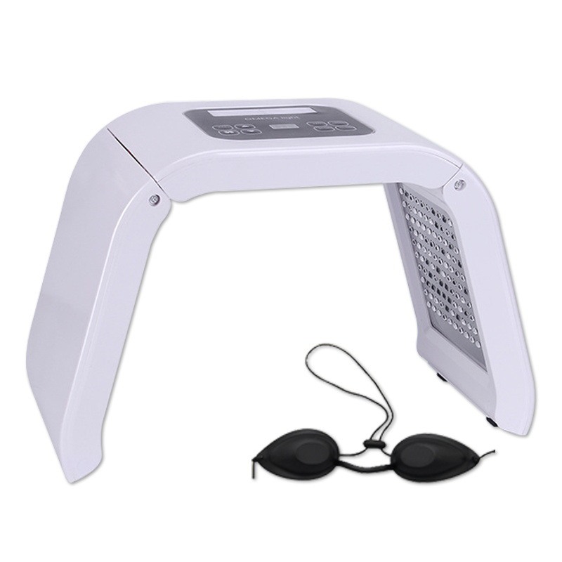 4 Colors Led Pdt Lighting Color Therapy Machine Photon For Salon Clinic