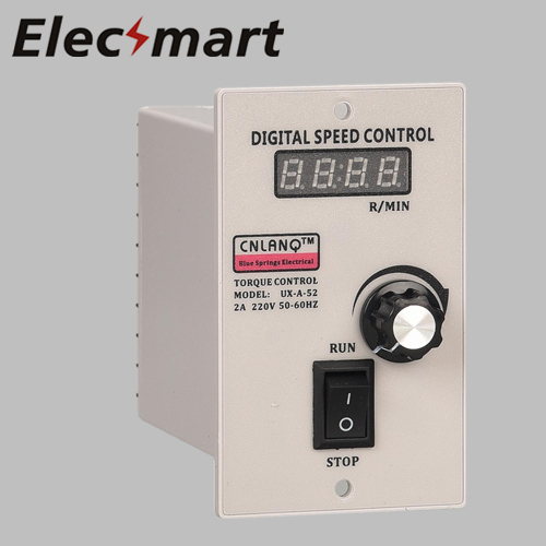contact us for power level digital display Electrical Motor Speed Control UX-A-52 AC Motor Speed Controller 220V