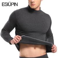 Plus Size L XXXL Hot Sale Thermal Underwear Men Set High Collar Cotton Thick Warm Winter