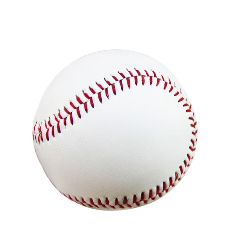 2pcs 9-inch Rubber Practice Baseball For Students And Beginner (white) At Any Cost