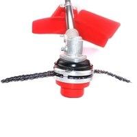 Trimmer Head Coil 65Mn Chain Brushcutter Garden Grass Trimmer For Lawn Mower A26 Dropshipping