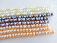 Flawless AAA 8 9MM 38 40cm Freshwater Shell Pearls Semi finished Necklaces Loose Pearls Beads Necklaces Jewelry making Necklaces