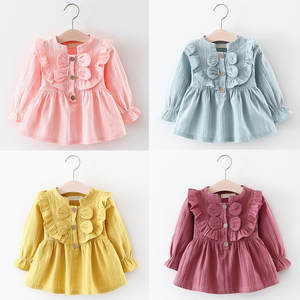 5ba165471ac45 ISHOWTIENDA Kids Baby Girls Clothes Long Sleeve Party